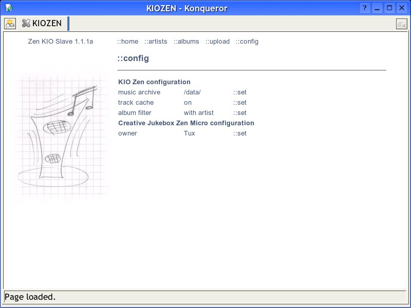 screenshot config section